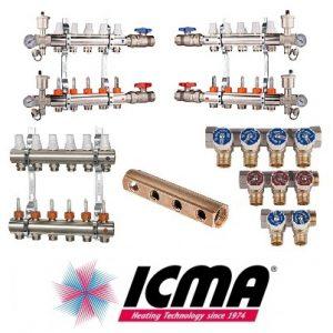 Коллекторы и коллекторные модули ICMA к