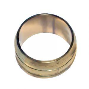 Кольцо обжимное, латунь, NTM, артикул 215H