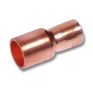 Муфта однораструбная, медь, соединение под пайку, SANHA, артикул 5243