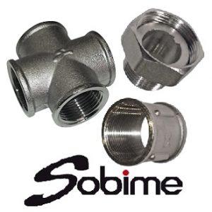 Фитинги латунные SOBIME резьбовые никелированные