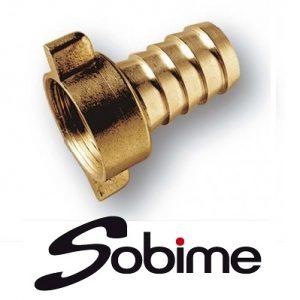 Соединители Sobime для шлангов, латунь